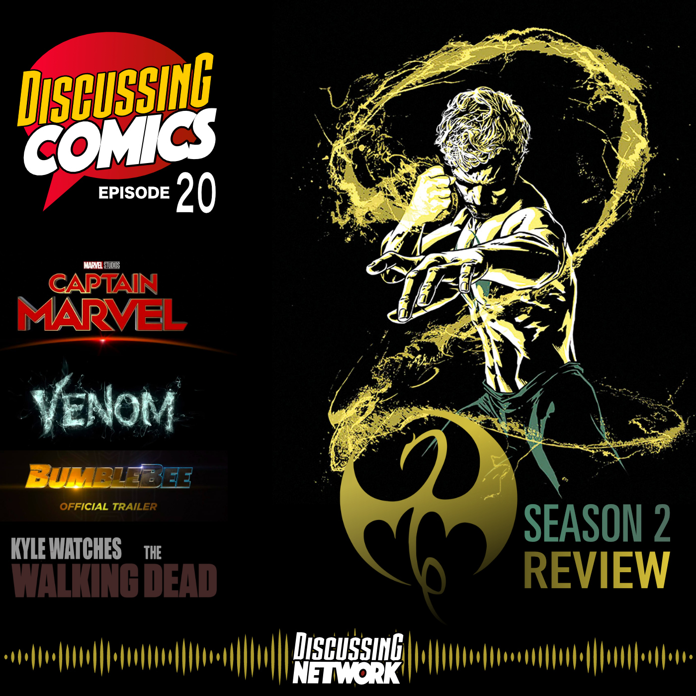 Discussing Comics Review of Iron Fist Series 2
